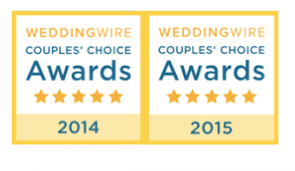 Wedding Wire Couples' Choice Award Winner
